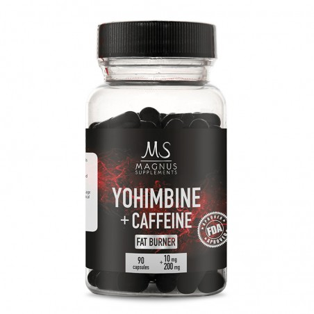 Yohimbine HCL + Caffeine
